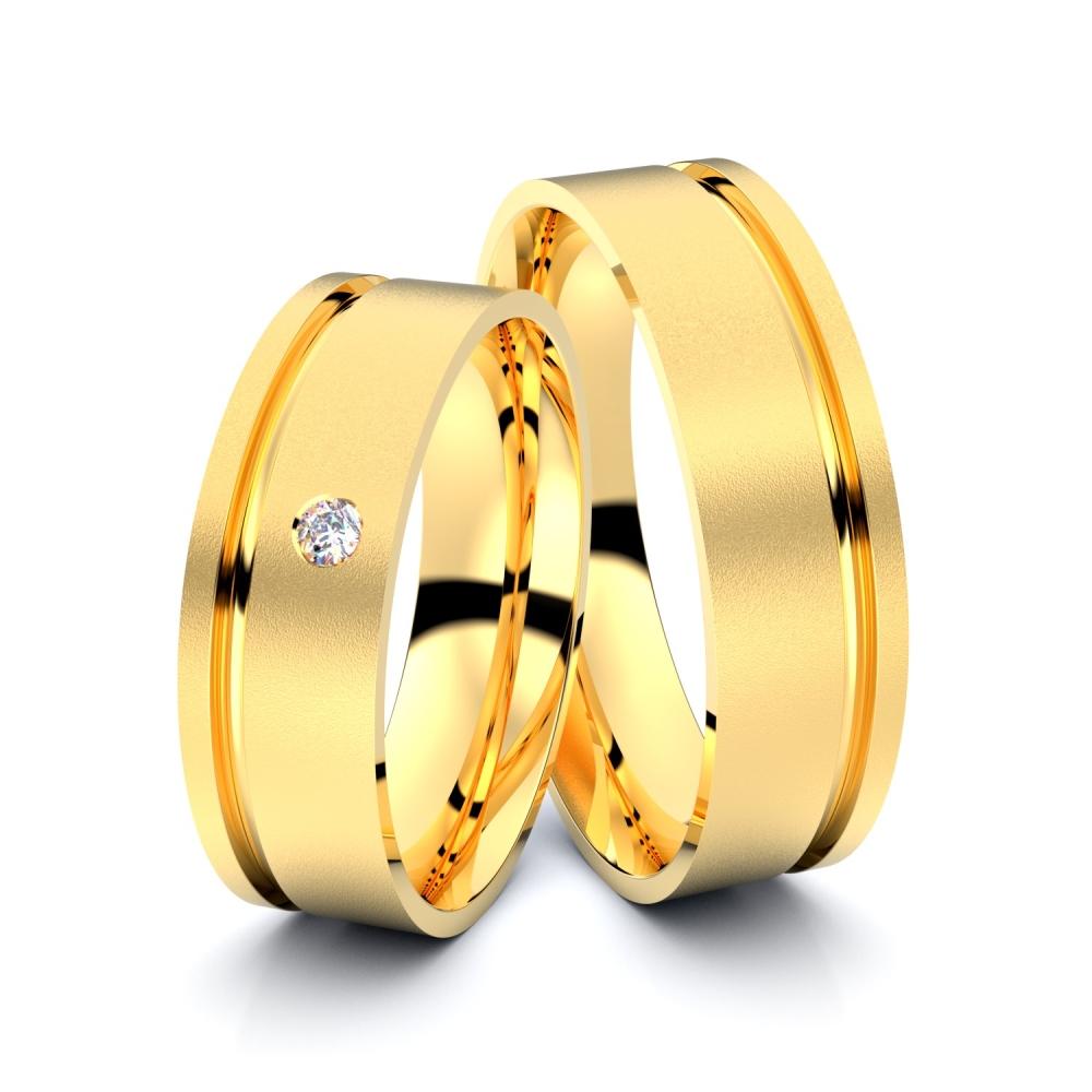 Trauringe Witten 585er Gelbgold - 0943