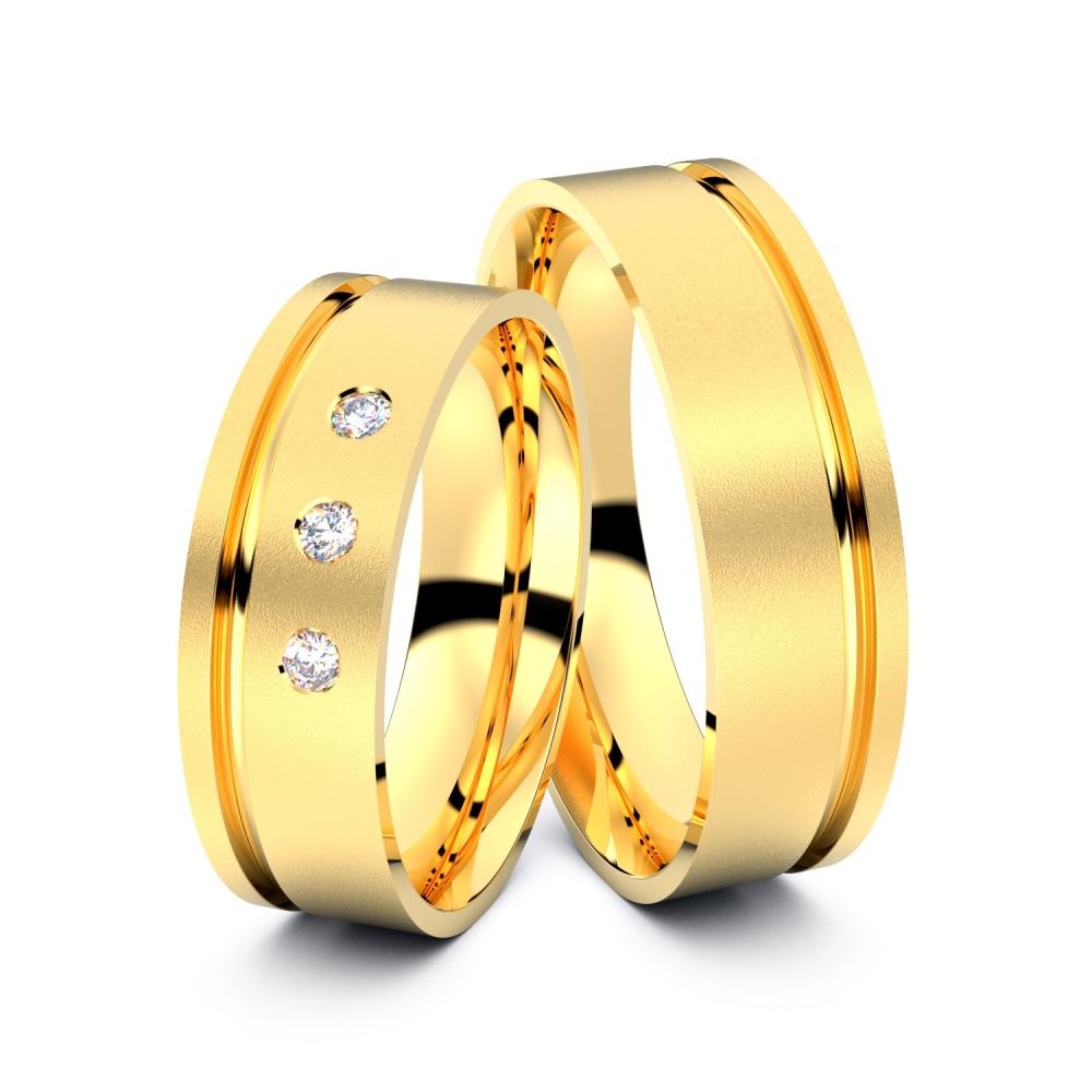 Trauringe Witten 585er Gelbgold - 0977