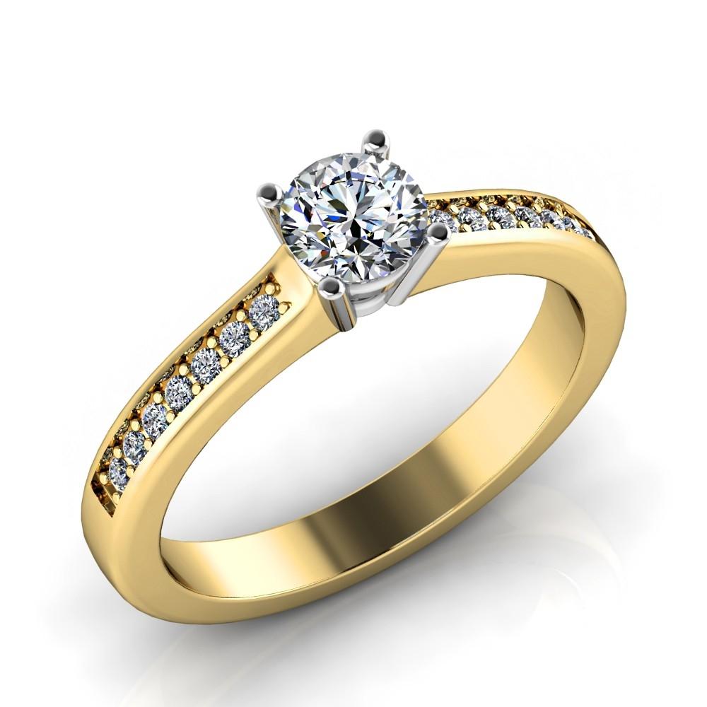 Verlobungsring-VR05-333er-Gelb-Weißgold-5200